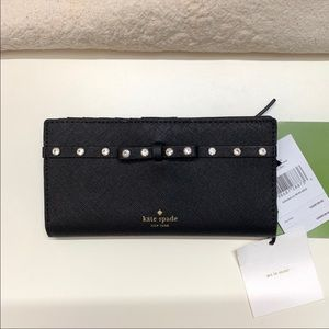 Kate Spade Laurel Way Jeweled Wallet